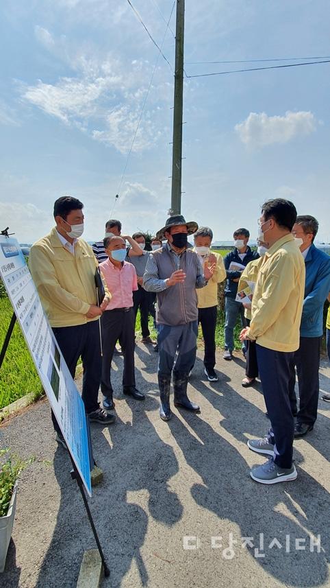 김현수 농식품부 장관 당진 방문